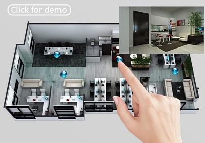 3D Floor Plan Design, Interactive 3D Floor Plan