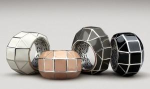 геометрический формы в аксессуарах