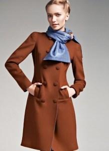 пальто классического кроя