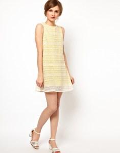 романтической платье в стиле гамин