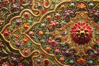 индийская вышивка