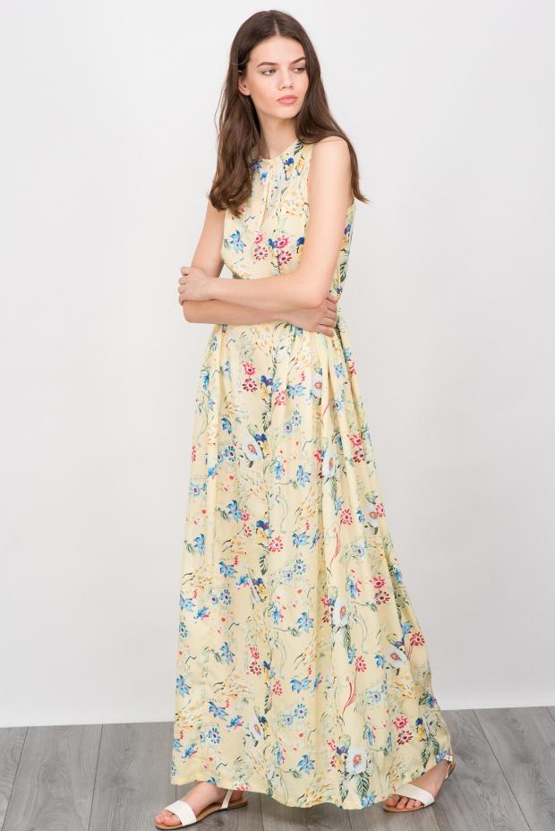 тренд лета 2016 платья макси
