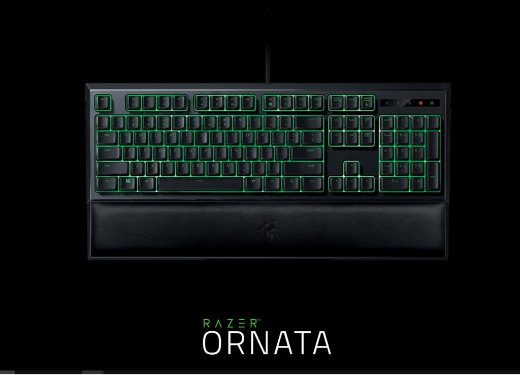 【レビュー】RAZER ORNATA - 緑軸入門に最適なキーボードをおすすめしたい!!