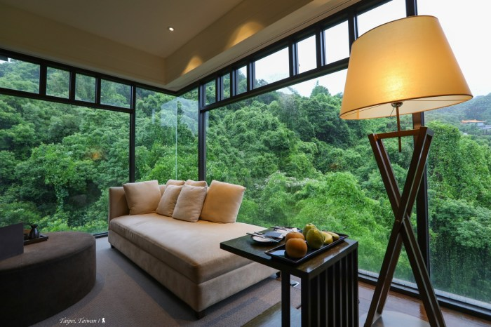 北投麗禧套房獨享 270 度綠意環景,手繪歡迎卡誠意滿點!