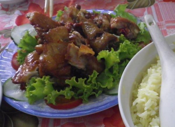 タムキの鶏料理