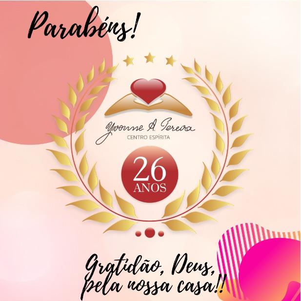 Parabéns CEYAP 26 anos!