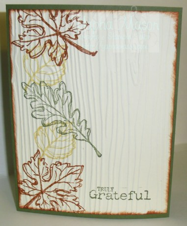 Gently Falling Outline Card by Yapha