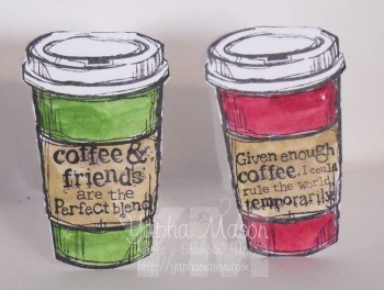 Mini Coffee Cards by Yapha
