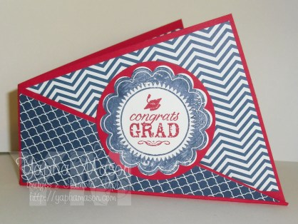 Graduation Gift Card Holder by Yapha