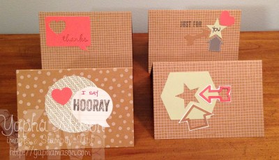 Hip Hip Hooray Cards by Alice