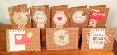 Hip Hip Hooray Cards by Yapha