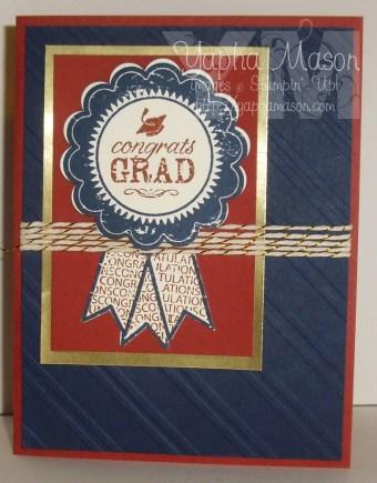 Congrats Grad by Yapha Mason
