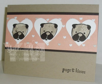 Pugs & Kisses by Yapha