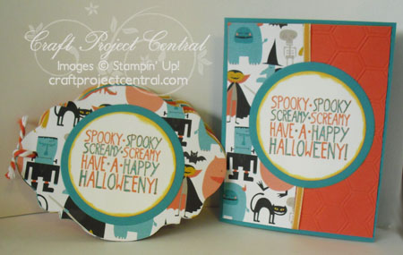 Halloween Mini Scrapbook & Card