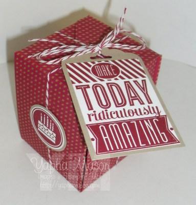 Amazing Birthday Box by Yapha