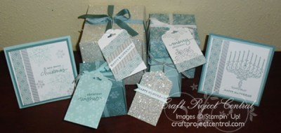 Mix & Match Winter Holiday Boxes & Tags by Yapha