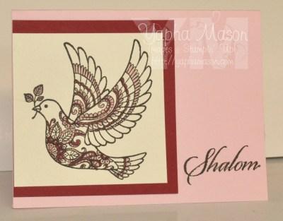 Shalom Dove by Yapha
