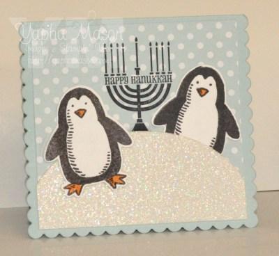 Penguin Hanukkah by Yapha