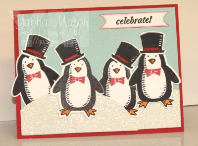Celebrate with Penguins by Yapha