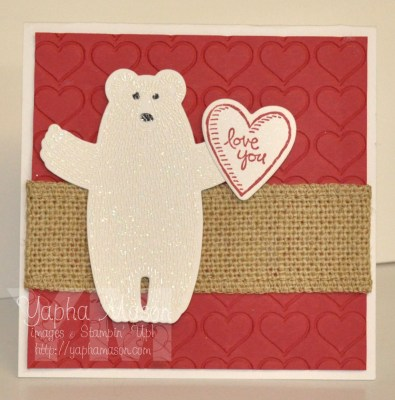 Polar Bear Valentine by Yapha