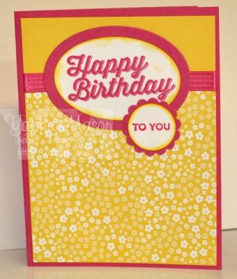 Birthday Pairings by Yapha
