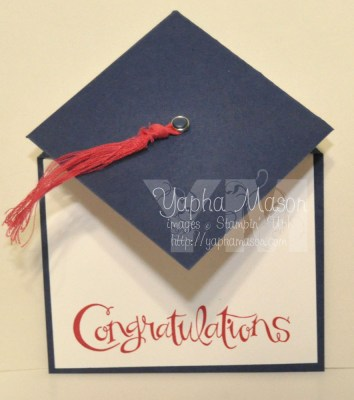 Mortarboard Card by Yapha