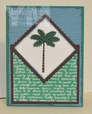 Palm Tree by Yapha