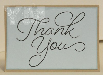 Thank You by Yapha
