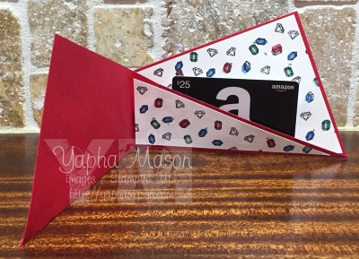 Priceless gift card holder (inside) by Yapha