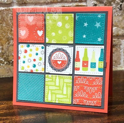 Sampler Quilt Card by Yapha