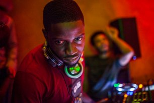 Andrew Esiebo, Dj Obi disc jockeying one of the several parties at the Spice Route Asian and restaurant bar in Victoria-Island, up-market district of Lagos.