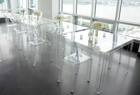 Şeffaf mobilyalar