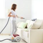 Elektrikli süpürge temizliği