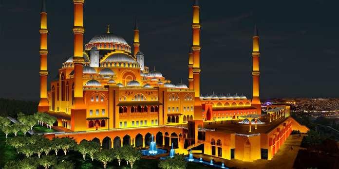 Çamlıca Camii Açılış İçin Gün Sayıyor