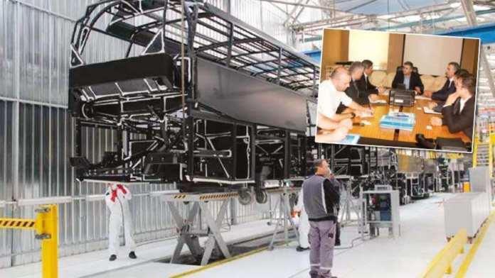 Çubuk'a Otobüs Fabrikası Kurulacak