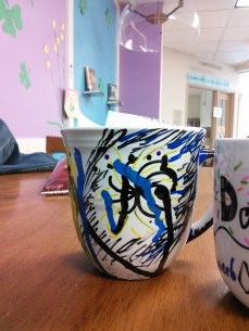 sharpie mugs and tyvek flowers 038