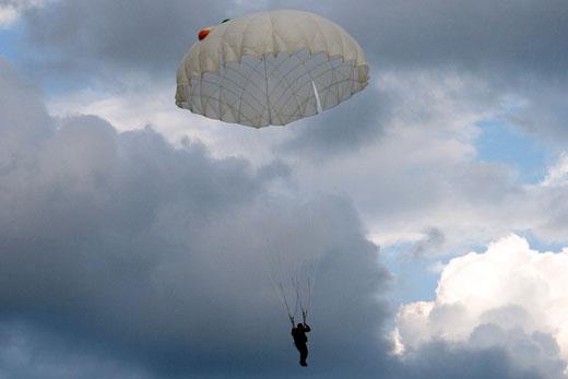 Динамика раскрытия парашюта Д-6