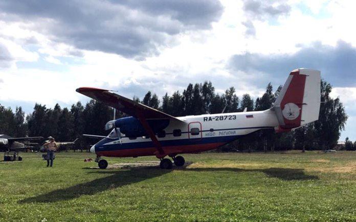 В Ярославле поселился замечательный самолет Ан-28