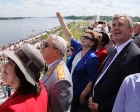 50-летний юбилей полета в космос Валентины Терешковой