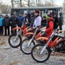 Центр патриотического воспитания ДОСААФ в Карачихе получил новые мотоциклы