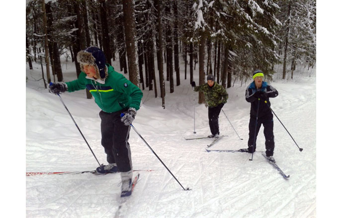 ДОСААФовская лыжня - 2019