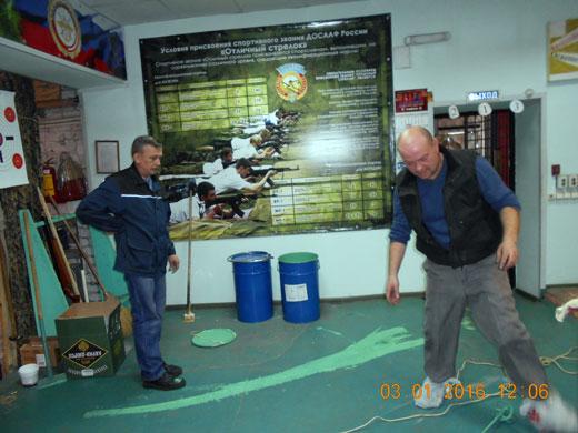 Косметический ремонт в Ярославском УСТЦ