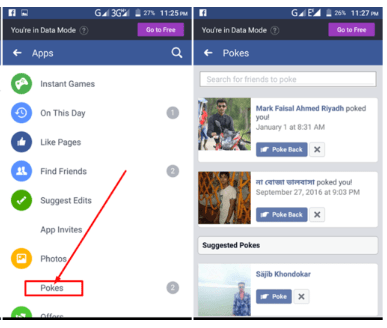 How To See Who Poked You On Facebook په فیسبوک کې پوک (Poke) څه ته وايي او څنګه کیږي؟