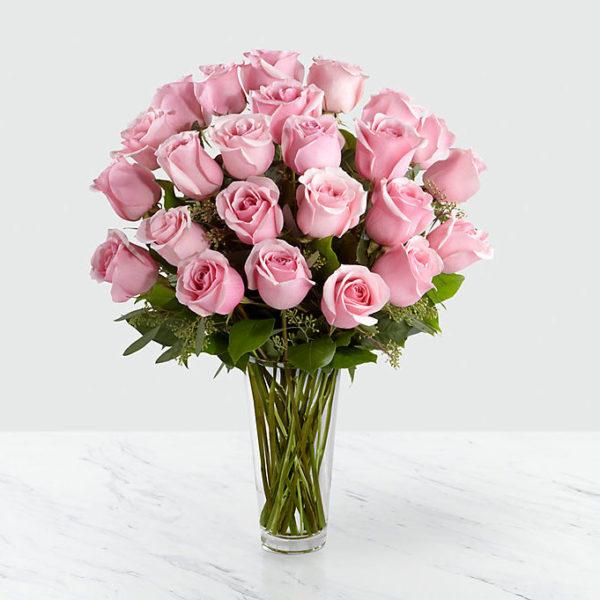 24 Long Stem Lavender Roses