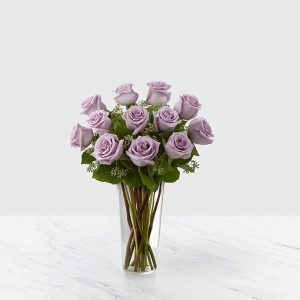 12 Long Stem Lavender Roses