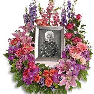 In Memoriam Wreath Yara Flowers