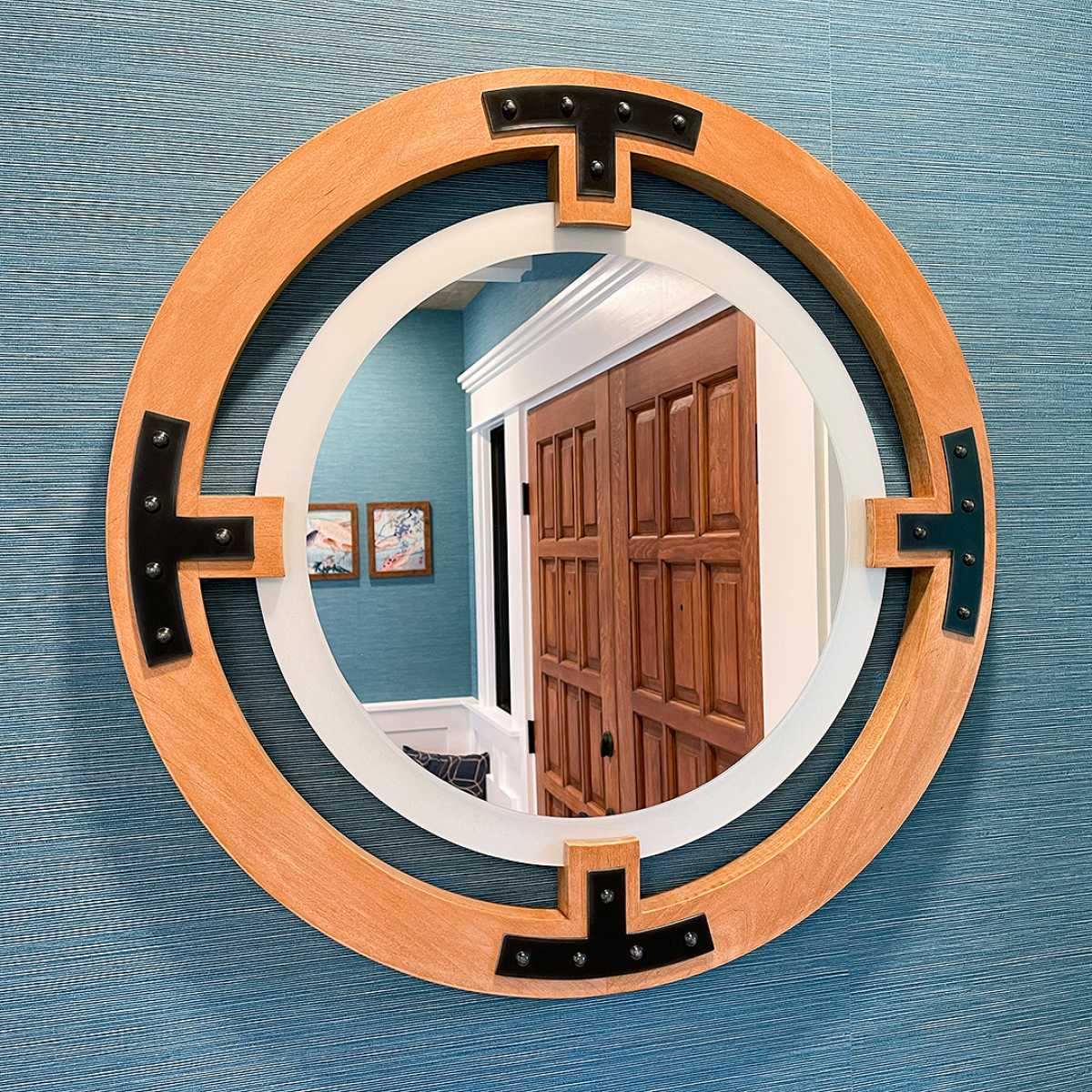 Oculus Wall Mirror by Yarbough Design