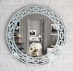 Wainscot Wall Mirror by Yarbough Design