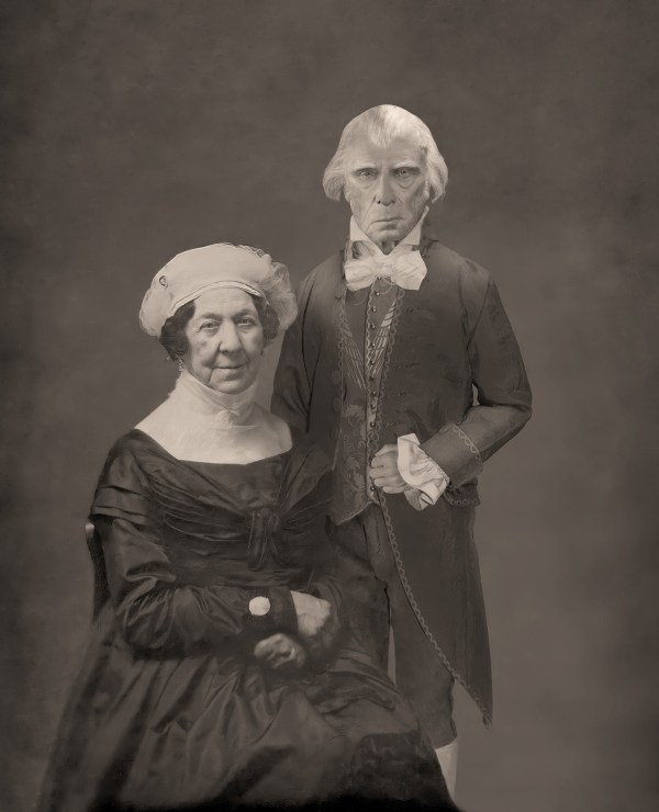 The Lost Daguerreotype of James Madison and Dolley Madison