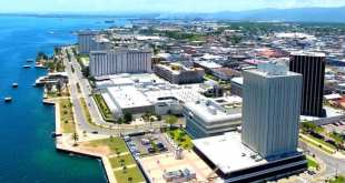 Jamaica kingston business waterfront building 2020